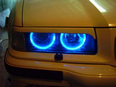 Анекдоты про фары BMW