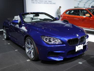 Новый BMW M6 представили в Нью-Йорке
