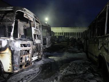 В Архангельске скорел BMW X6 и несколько автобусов